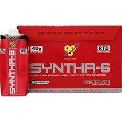 BSN Syntha-6 RTD Chocolate (16.9 fl. oz.) 12 bttls