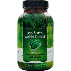 IRWIN NATURALS Less-Stress Weight Control Less-Stress Wght Control 75 sgels