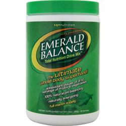 SGN Nutrition Emerald Balance Minty Green Tea 10 oz