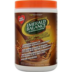 SGN NUTRITION Emerald Balance Plus Chocolate 10.5 oz