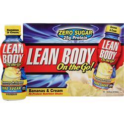 LABRADA Lean Body On the Go RTD (14 fl.oz.) Bananas & Cream 12 cans