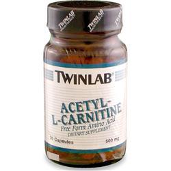 TWINLAB Acetyl L-Carnitine (500mg) 30 caps