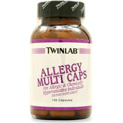 TWINLAB Allergy Multi Caps 100 caps