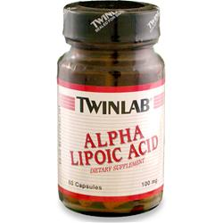 TwinLab Alpha Lipoic Acid (100mg) 60 caps