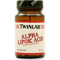 TWINLAB Alpha Lipoic Acid (50mg) 60 caps