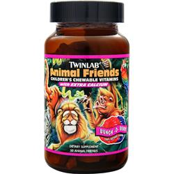 TWINLAB Animal Friends - Kid's Multivitamin Berry 50 wafrs