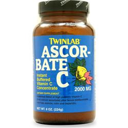 TWINLAB Ascorbate C Powder 8 oz