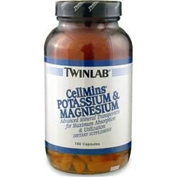 TwinLab Cellmins - Potassium & Magnesium 180 caps