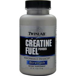 TwinLab Creatine Fuel Powder 4 oz