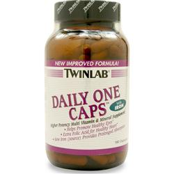 TWINLAB Daily One with Iron Multivitamin 180 caps