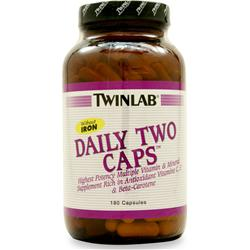 TWINLAB Daily Two without Iron 180 caps