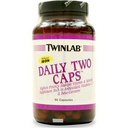 TWINLAB Daily Two without Iron 90 caps