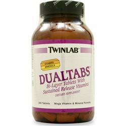 TWINLAB Dualtabs 200 tabs