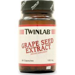 TWINLAB Grape Seed Extract (100mg) 60 caps
