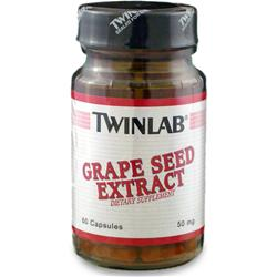 TWINLAB Grape Seed Extract (50mg) 60 caps