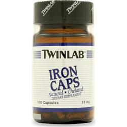 TwinLab Iron (18mg) 100 caps