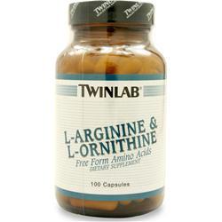 TwinLab L-Arginine & Ornithine 100 caps