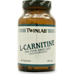 TWINLAB L-Carnitine (250mg) 90 caps