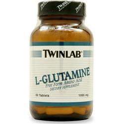 TwinLab L-Glutamine (1000mg) 50 tabs