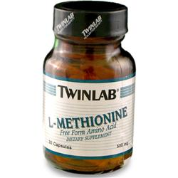 TwinLab L-Methionine (500mg) 30 caps
