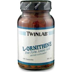 TwinLab L-Ornithine (500mg) 100 caps