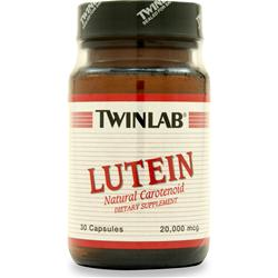 TWINLAB Lutein (20mg) 30 caps