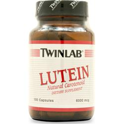 TWINLAB Lutein (6mg) 100 caps