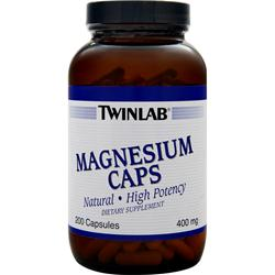TwinLab Magnesium (400mg) 200 caps