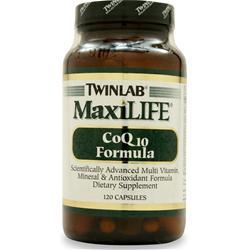 TwinLab MaxiLIFE - CoQ-10 Formula 120 caps