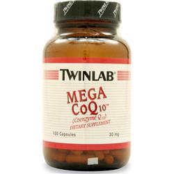 TWINLAB Mega CoQ-10 (30mg) 100 caps