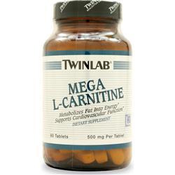 TwinLab Mega L-Carnitine (500mg) 60 tabs