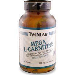 TwinLab Mega L-Carnitine (500mg) 90 tabs
