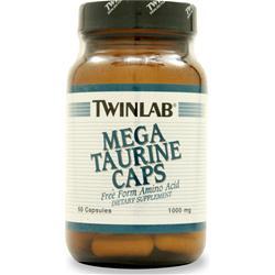 TwinLab Mega Taurine (1000mg) 50 caps