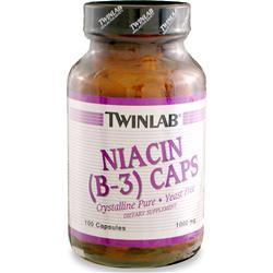 TwinLab Niacin B-3 (1000mg) 100 caps
