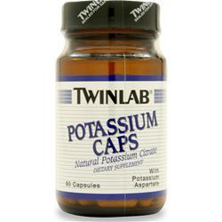 TwinLab Potassium (99mg) 90 caps