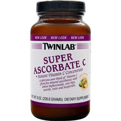 TWINLAB Super Ascorbate C-2000 Powder 8 oz