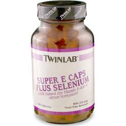 TwinLab Super E & Selenium 100 caps