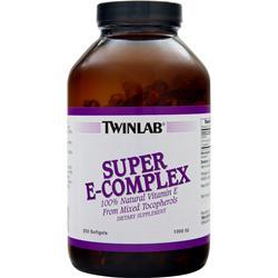 TWINLAB Super E Complex (1000 IU) 250 sgels
