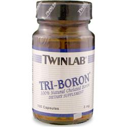 TWINLAB Tri-Boron 100 caps