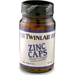 TWINLAB Zinc (30mg) 100 caps