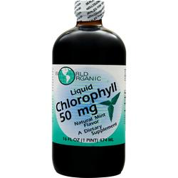 World Organics Liquid Chlorophyll (50mg) Mint 16 fl.oz