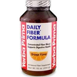 YERBA PRIMA Daily Fiber Powder Orange 16 oz