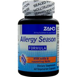 ZAND Allergy Season Formula 60 caps