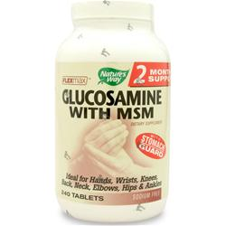 NATURE'S WAY Glucosamine with MSM Flexmax 240 tabs