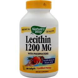 NATURE'S WAY Lecithin (1200mg) 100 sgels