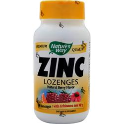 Nature's Way Zinc with Echinacea & Vitamin C Berry 60 lzngs