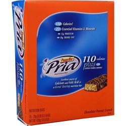 PowerBar Pria 110 Plus Bar Chocolate Peanut Crunch 15 bars