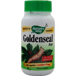 NATURE'S WAY Goldenseal Root 100 caps