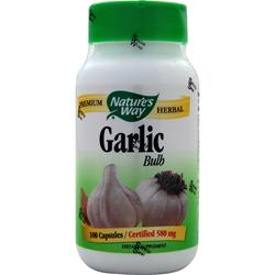 Nature's Way Garlic Bulb 100 caps