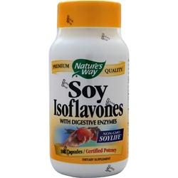 NATURE'S WAY Soy Isoflavones 100 caps